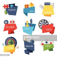 526259847-labels-with-game-icons-in-flat-design-style-gettyimages.jpg (414×414)