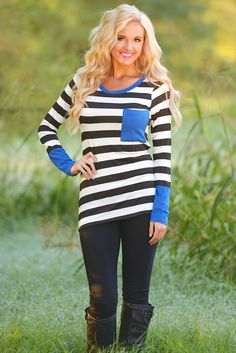 """Places To Go Top - Royal Blue from Closet Candy Boutique Use code """"repjennifer"""" for 10% off and FREE shipping. Like my Facebook page, Closet Candy Boutique Representative-Jennifer Dierker!"""