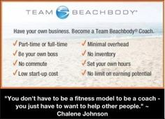 I love being a Beachbody Coach! http://beachbodycoach.com/esuite/home/jgringle