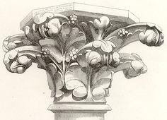 Gothic Architecture Antique Prints