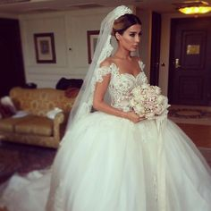 Find More Wedding Dresses Information about Latest 2014 Sexy Sheer O Neck See Through Lace Bodice Off the Shoulder Straps Ball Gown Wedding Dress,High Quality dress thin,China gown prom dress Suppliers, Cheap dress up sexy dolls from 27 Dress on Aliexpress.com