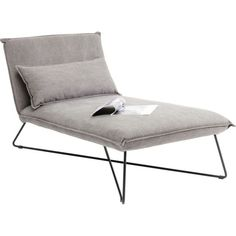 Modern Gray Lounge Chair – Cornwall – Kare Design by Kare Design, Chaise Longue Design, Modern Furniture, Furniture Design, Wood Furniture, Cosy Sofa, Cornwall, Flat Ideas, Lounge Sofa