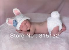 Free Crochet Baby cocoon Patterns | Free shipping cute rabbit baby hat and shorts handmade crochet baby ...