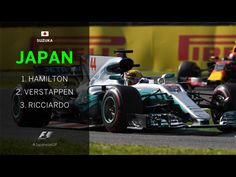 GP F1 Japan Suzuka 2017. The final result of the race on the 8th of October 2017.