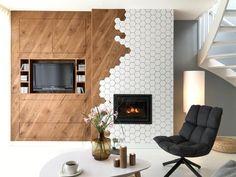 Warme witte woonkamer (deel 2) - Eigen Huis en Tuin