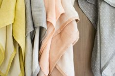 This tutorial for a swaddling blanket uses double gauze!  My sister-in-law recently had a baby, and all of her receiving blankets were made from this cool and versatile fabric.  Yes, it's pricey.  But, it's gorgeous and the quality really shows.