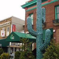 Cactus Cantina, 3300 Wisconsin Ave NW, Washington DC 20016-QUESO and homemade tortilla chips!