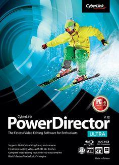 Cyberlink PowerDirector 12 crack and activation code free download