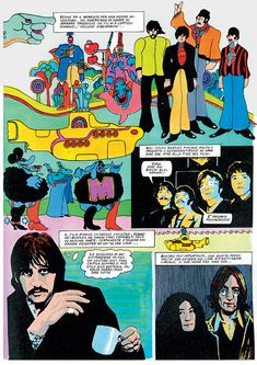 """""""THE BEATLES IN COMIC STRIPS"""": A COLLECTION OF COMIC BOOK APPERANCES"""