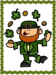 St. Patricks Day Activities DESCRIBE A LEPRECHAUN: Writing with Adjectives