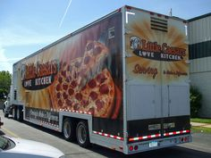 The Little Caesars Love Kitchen rolled to the Mission recently.