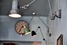 Use all different second hand lamps