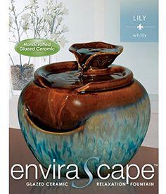 HoMedics WF-LILY EnviraScapeTM Lily Ceramic Relaxation Fountain Homedics http://www.amazon.com/dp/B009Y41ZIE/ref=cm_sw_r_pi_dp_JF5-ub1Q0YRMY
