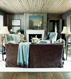 Comfortable and fabulous family room