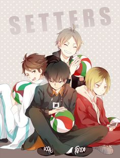 Love fo tehm settas~ ...tho personally, my favorite position would be libero!! <3