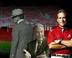 Bear Bryant, Gene Stallings, Nick Saban - Coaches who have led Alabama to be champions