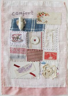 Art quilt, stitch, embroidery, patchwork, doll