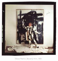 Steve Martin, Beverly Hills, 1981