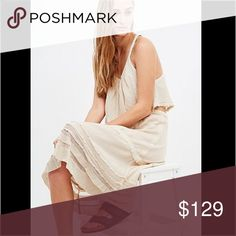 Free People White Two Piece Dress Two piece, brand new in package. Discount on bundles. Free People Dresses