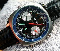 Poljot Retro Chronograph cal 3133 - NEW