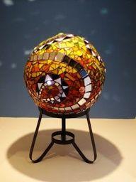 diy Mosaic Sphere