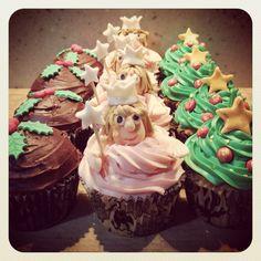 Festive cupcakes. Find me at facebook.com/tikisbakehouse or tikisbakehouse.blogspot.co.uk