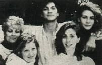 Julia Roberts with her mother and brother and sister