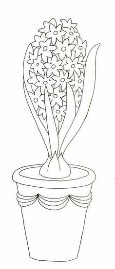 Spring Coloring Pages, Flower Coloring Pages, Disney Coloring Pages, Colouring Pages, Coloring Books, Border Embroidery Designs, Embroidery Patterns, Spring Art, Spring Crafts