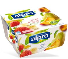"""For those who love fruity flavours without the fruity bits, Alpro  Strawberry with Banana and Alpro Peach with Pear are the perfect choice."""