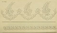 Riscos de bordados antigos (1816 a 1820)  link: http://www.ekduncan.com/2011/10/regency-era-needlework-patterns-from_11.html  EKDuncan - My Fanciful Muse: Regency Era Needlework Patterns from Ackermann's Repository 1816-1820