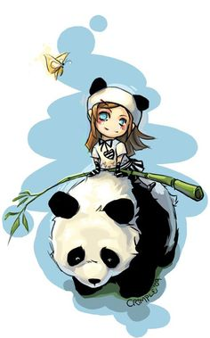 i want to ride a panda!