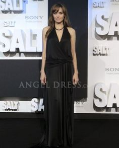 A line Angelina Jolie At Salt Berlin Premiere Red Carpet Dresses