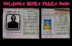 The High-Tech Teacher: Slick Tricks for Grade Six: Fun Descriptive Writing/ Figurative Language Foldable