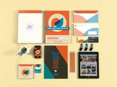 Day2dayPrinting Branding by Eon Jung, via Behance