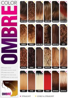 Hair Weave Number Color Chart The Hair Tho Braiding