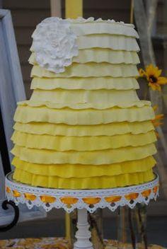 Ruffle Yellow
