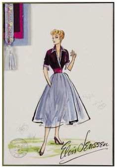 Lucy Ricardo's famous three peice outfit