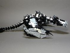 Lego skyrim dragon. Awesomesauce. Check the link for the complete scene.
