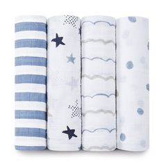aden + anais Classic Swaddle 4-Pack Heartbreaker: Amazon.ca: Baby