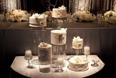 deconstructed wedding cake - Google Search