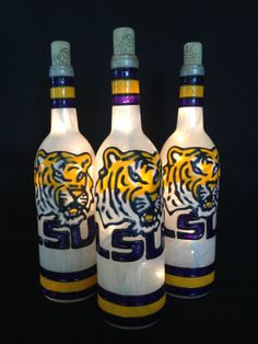 LSU Tiger Jersey Stripes on Etsy, $35.00
