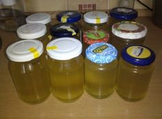 Pampeliškový med s přídavkem třtinového cukru Home Recipes, Drink Bottles, Med, Smoothie, Pudding, Homemade, Drinks, Sweet, Author