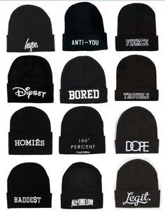 4ca9515aa48 beanies for girls with sayings - Google Search · Outfits with hatsSwag ...