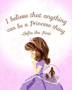Anything Can be a Princess Thing Sofia the First by ACrescendence