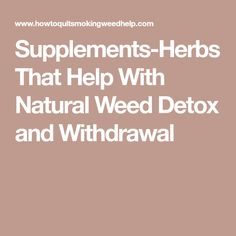 7 Best Weed detox images in 2017 | Weed detox, Detox, Thc detox