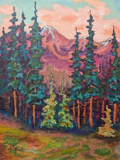 Tree Tips and Mountaintops