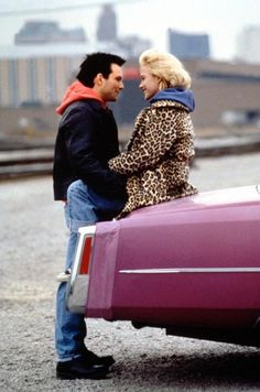 Patricia Arquette and Christian Slater in True Romance (Alabama Whitman & Clarence Worley) Patricia Arquette, True Romance, Romance Movies, Quentin Tarantino, Tony Scott, Christian Slater, Star Crossed, Movie Couples, If You Love Someone
