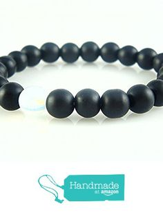 Black Onyx Round Beads with Moonstone Stretch Bracelet Medium Size 6.7'' SALE %15 OFF from echmeck https://www.amazon.com/dp/B01MUNEVNV/ref=hnd_sw_r_pi_dp_XS1ezbP1HTGPS #handmadeatamazon