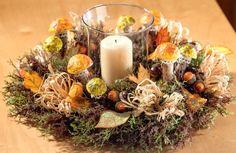 Herbstlicher Kranz mit Pilzen - VBS-Hobby.com