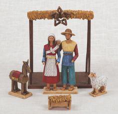 "7"" 5-Piece Mayan Nativity $19.95"